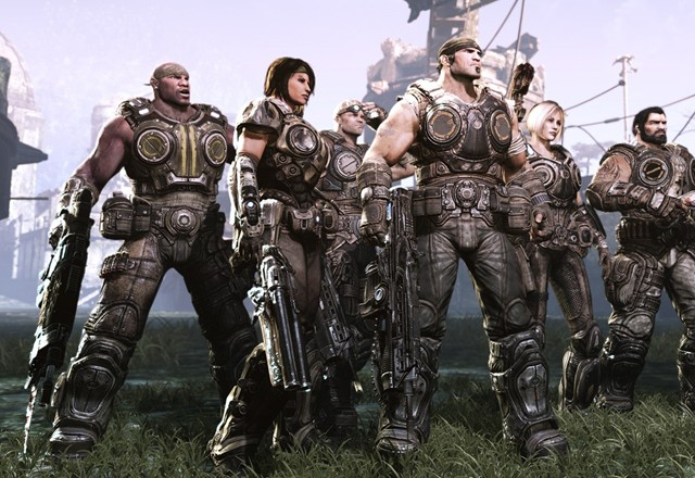 Тизер шутера «Gears Of War 3»